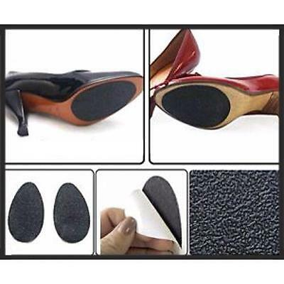 Anti-Slip Self-Adhesive Stick on Shoe Grip Pads Non-Slip Rubber Sole Protector