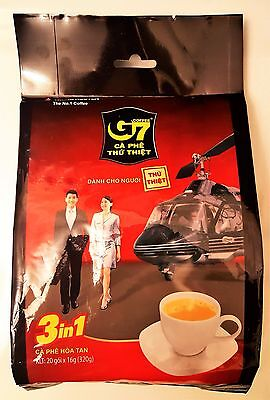 TRUNG NGUYEN, G7, 3-in1, Instant Coffee, Mix, Various Quantities Free Shipping