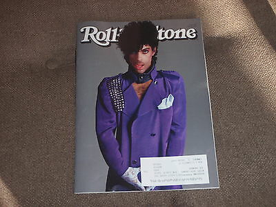PRINCE 1958-2016 - Rolling Stone Magazine - MAY 2016 - PURPLE RAIN 1