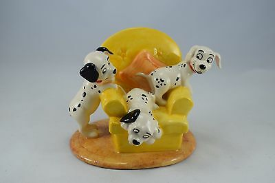 Royal Doulton Disney Figure 101 Dalmations 'Pups in the Armchair'