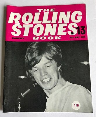 The Rolling Stones Monthly Book Number Thirteen (no.13) 10th June 1965