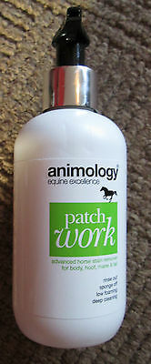 Animology Patch Work Stain Remover for Horses  200ml    NEW