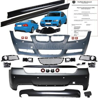 bmw e46 coupe cabrio bodykit pare choc avant arri re bas. Black Bedroom Furniture Sets. Home Design Ideas