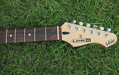 LINE 6 GUITAR NECK pro dressed and polished frets (better than new)