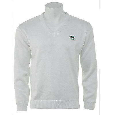 Ek Bowls-Wear Lightweight White Bowls Pullover - Various Sizes.