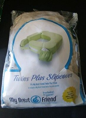 My Breast Friend Twins Plus Slipcover Tan FREE SHIPPING
