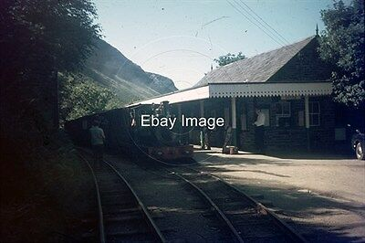 35mm Colour Slide of Talyllyn Railway Loco Sir Haydn at Abergynolwyn 1972