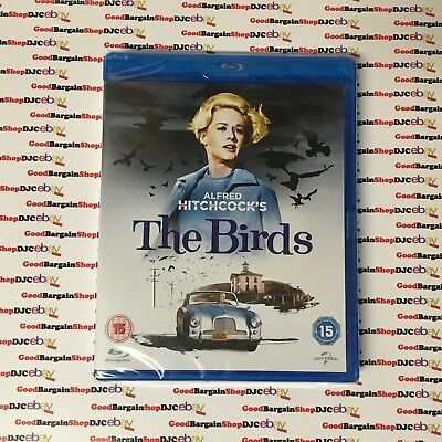 The Birds (Blu-ray, 2013) *New & Sealed*