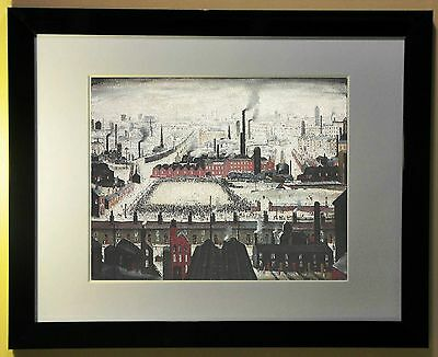 """L.S. Lowry """"The Football Match"""" 1949"""