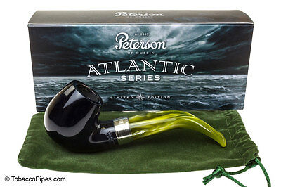 New Peterson Atlantic Limited Edition Briar Pipe Shape 221 Free  Pipe Tool