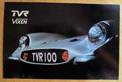 TVR VIXEN 1600 S2 orig 1960s UK Mkt Sales Brochure