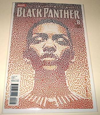BLACK PANTHER # 8 Marvel Comic   February 2017  NM   2nd PRINTING VARIANT COVER