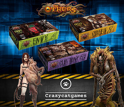 The Others: 3 Sin Expansion Bundle: Gluttony, Envy, Greed (Board Games)