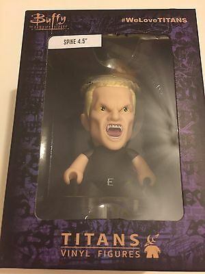 "Titans Buffy The Vampire Slayer * Spike Figure * 4.5"" - Nerd Block Exclusive"