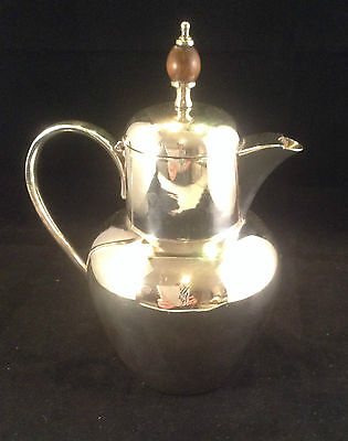 Vintage English Silver Plated Coffee Pot by WWH & Co