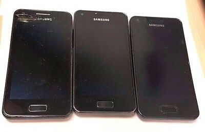 3 Lot Samsung I9070 Galaxy S Advance Telcel For Parts Used Wholesale As Is