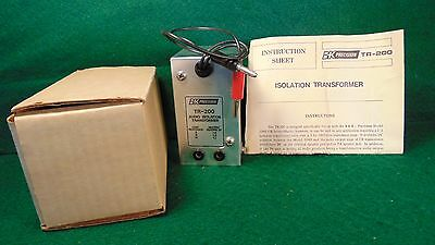 B&K TR-200 Audio Isolation Transformer NIB Untested