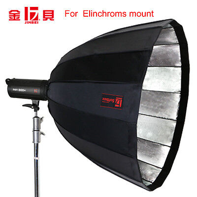 Jinbei 90cm Deep Octa Softbox Diameter 90cm for Elinchroms mount