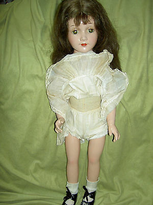 "GORGEOUS, large 22,"" Arranbee R&B ""DEBUTEEN"" composition & cloth sgnd. doll"