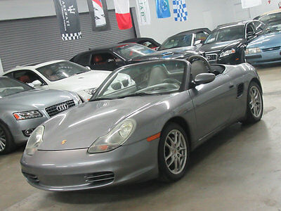 2004 Porsche Boxster 2dr Roadster 5-Speed Manual 63000 MILES 5SPD NONSMOKER FLORIDA CLEAN CARFAX SEE VIDEO TOO STICK SHIFT CONVER