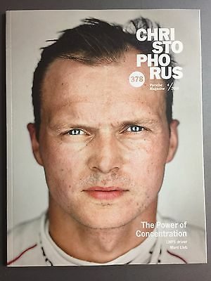 "2016 Porsche Christophorus Magazine English #378 ""Concentration"" Lieb 3/2016"