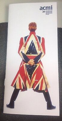 ACMI 12 Page Promotional Brochure - David Bowie Is... Exhibition