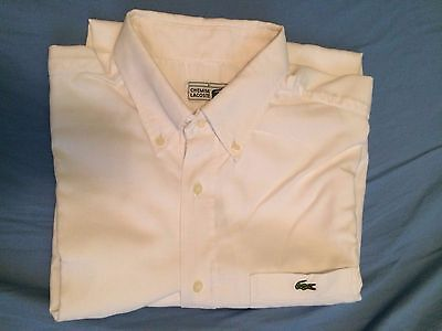 Chemise homme blanche LACOSTE taille 41