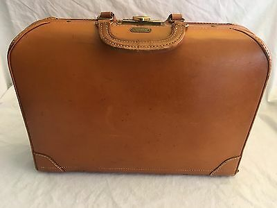 Vintage Snapak by SCHELL Leather Medical Doctor Briefcase STATE FARM INSURANCE