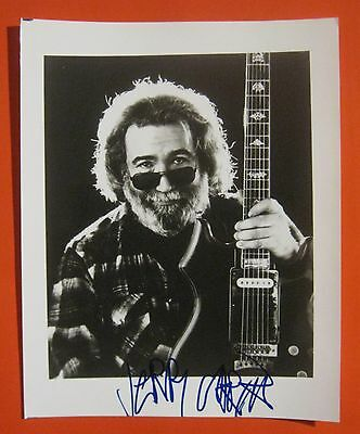 "Grateful Dead Jerry Garcia Signed 8"" X 10"" Photo See Proof + Bas Beckett Coa Loa"