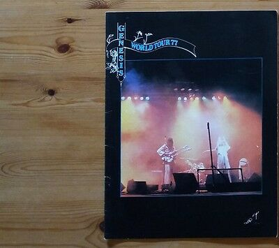 Genesis Wind and Wuthering 1977 Tour Programme