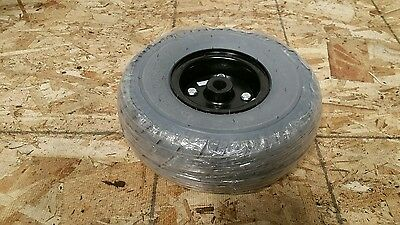 1  New Primo Durotrap 10X3 Tire/ Wheel Pride Jazzy Wheelchair. Solid Air Free