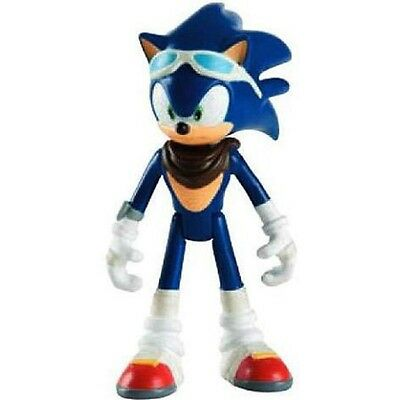 """Sonic Boom Sonic with Glasses 3"""" Plastic Action Figure Toy"""