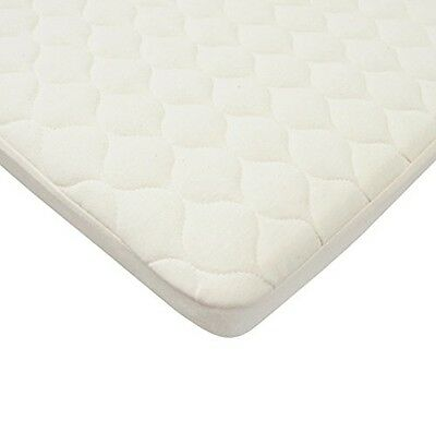 American Baby Company Waterproof Quilted Bassinet Size Fitted Mattress Cover