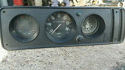 Vw  type 2 speedo bay window complete dash clocks .   LHD volkswagen camper