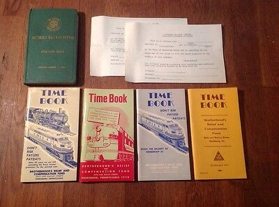 Southern Railway System Operating Rules (1956), And 1960's Time Books, Ephemra