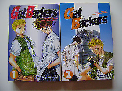 MANGA : GET BACKERS ---  TOME 1 et 2