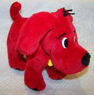 Clifford Big Red Dog Plush Posable Bendable 2000 Scholastic
