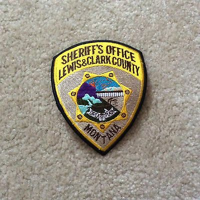 Sheriff's Office Lewis& Clark County Montana patch