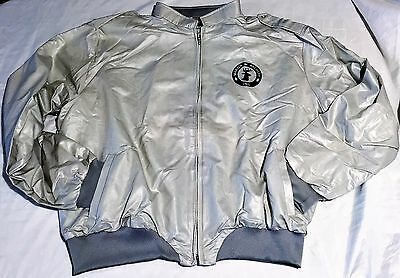 Martin Archery Men's XL Jacket by Hilton Silver/Gray Poly/Cotton, Flannel Lining