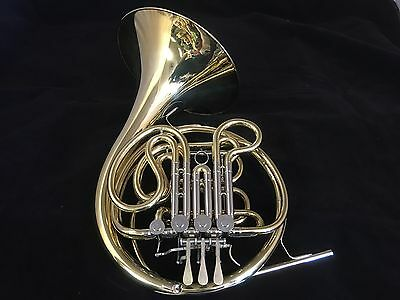 C. G. CONN 11DW3 Factory Demo DOUBLE FRENCH HORN w/new case
