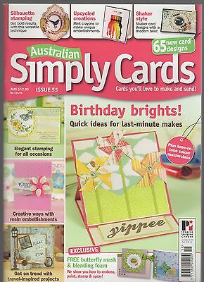 'Australian Simply Cards' Issue 55 (May 2013)