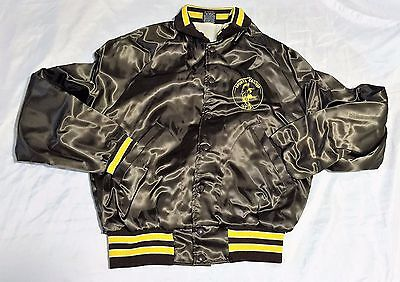 Drumheller SPORTS CENTER Men's Jacket 18/22 SMALL Brown/Yellow