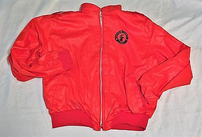 Martin Archery Men's LARGE Outdoor Snap Jacket by Hilton Bright RED