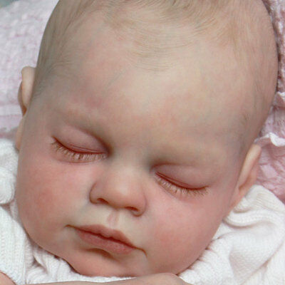 "New Reborn Baby Doll Kit ABIGAIL By Reva Schick @LDC Kits @ 21"" **New Release**"