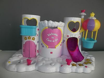 2003 Care Bears Care A Lot Castle playset Works