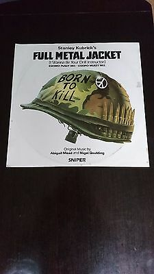 Full Metal Jacket - I Wanna Be Your Drill Instructor 12 inch vinyl single W8187T