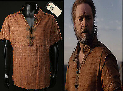 Original Tunic worn by Russell Crowe in Noah (2014) with COA