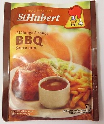 (3 Pack) St. Hubert BBQ Sauce Mix 57g Each Packet (From Canada)