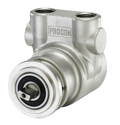 New Stainless Steel Rotary Vane  Pump Head  With Clamp