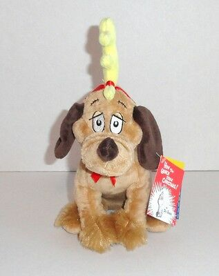 New Build a Bear Max Plush Grinch Dog Lil Furry Friends 2012 Edition Dr Seuss